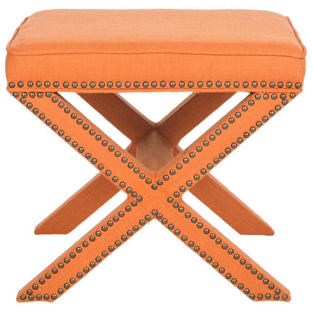 Safavieh Palmer ottoman en orange