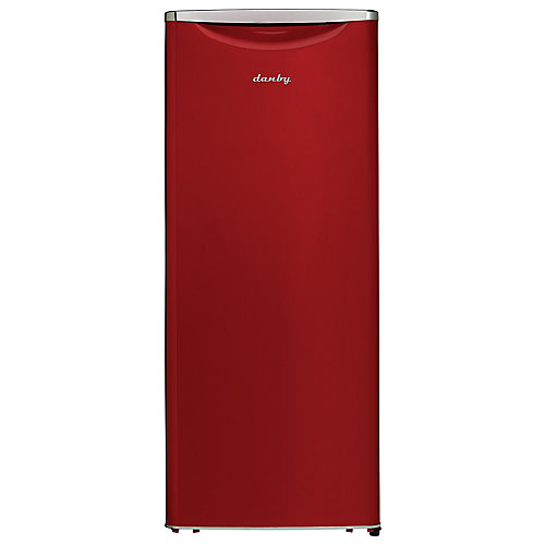 11 cu.ft. Contemporary Classic Apartment Size Refrigerator - Red