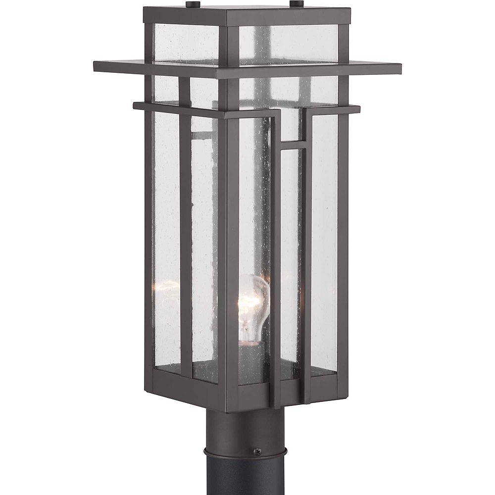 Progress Lighting Lanterne sur poteau à une lumière, collection Boxwood