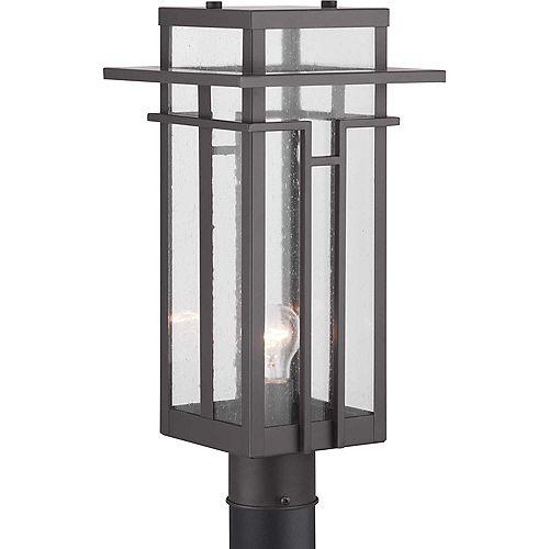 Lanterne sur poteau à une lumière, collection Boxwood