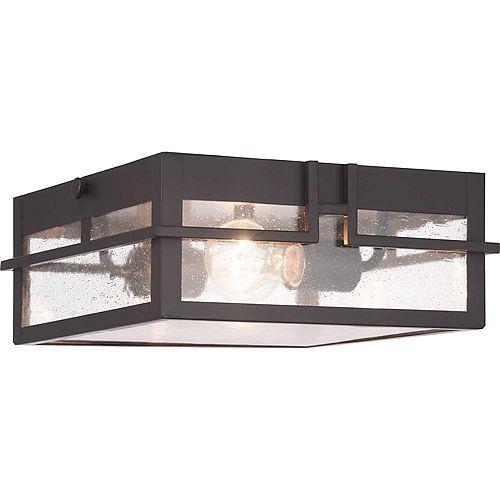 Luminaire encastré d'extérieur à une lumière, collection Boxwood