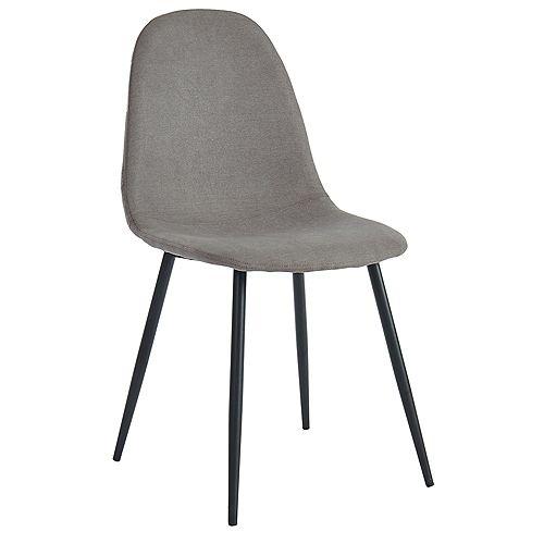 Olly ensemble de quatre chaise, gris