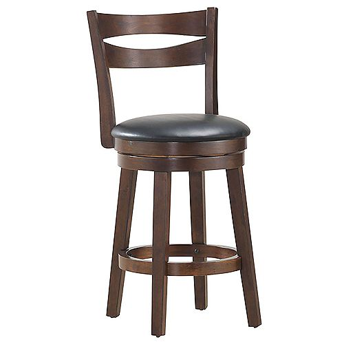 26-inch Counter Stool-Set of 2, Coffee