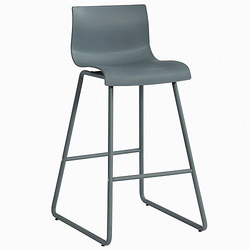 !nspire 26-inch Counter Stool-Set of 2, Grey