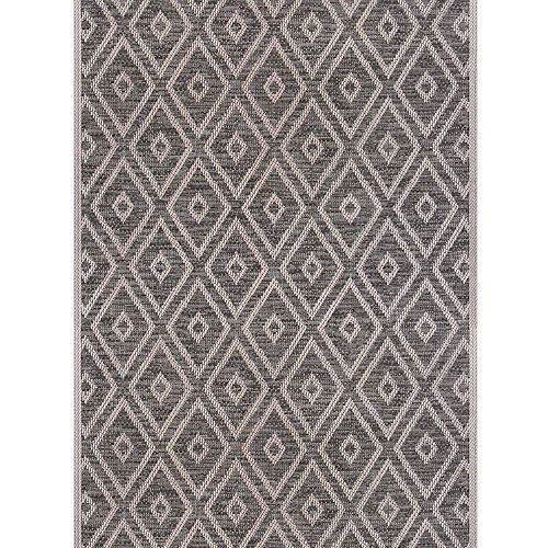 Chemin de tapis tissé plat Merton de 26 po vendu au mètre