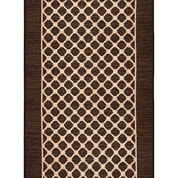 Malvern Taupe 26-inch x Custom Length Decorative Runner