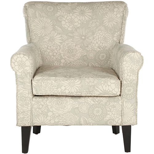 Hazina Polyester/Cotton Club Chair in Abbey Mist
