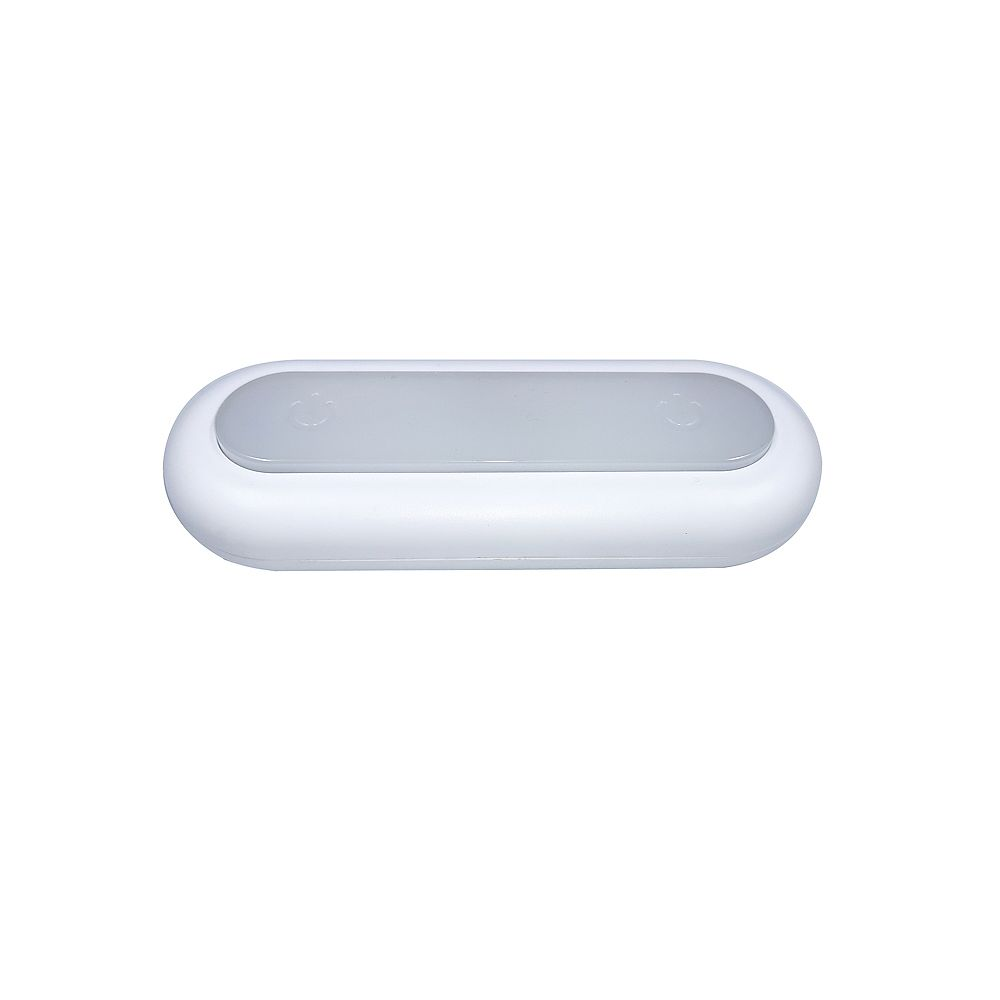 Commercial Electric Touch Light 6-inch LED White Under Cabinet Strip Light