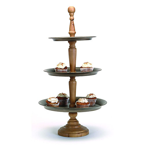 3-Tiered Catering Stand