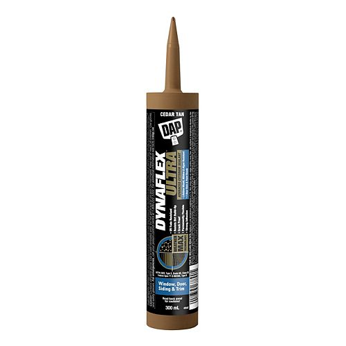 DAP DYNAFLEX ULTRA Advanced Exterior Sealant Cedar Tan