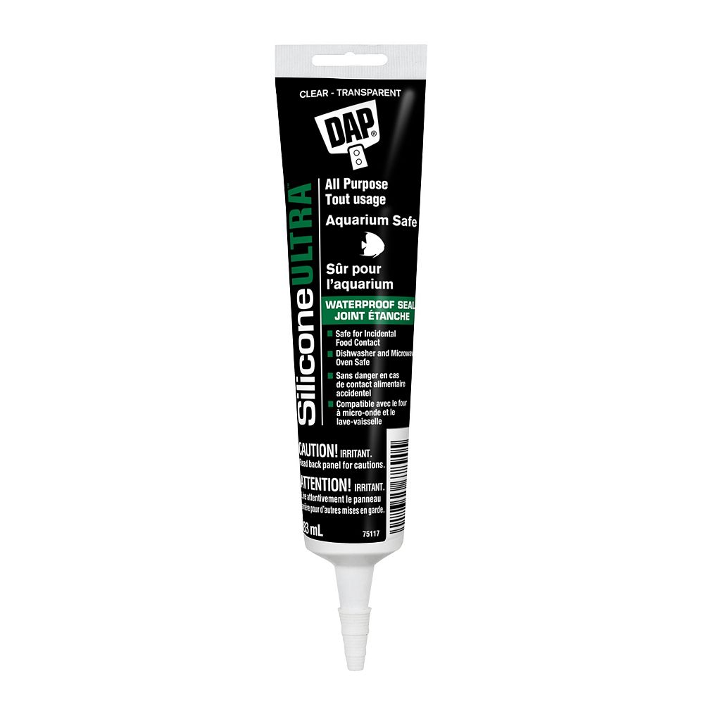 DAP All-Purpose 100% Silicone Adhesive Sealant