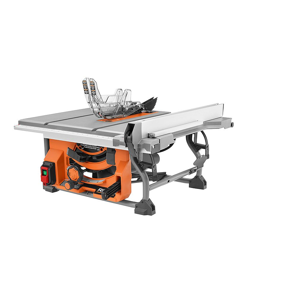 RIDGID 15 Amp 10 -inch Table Saw