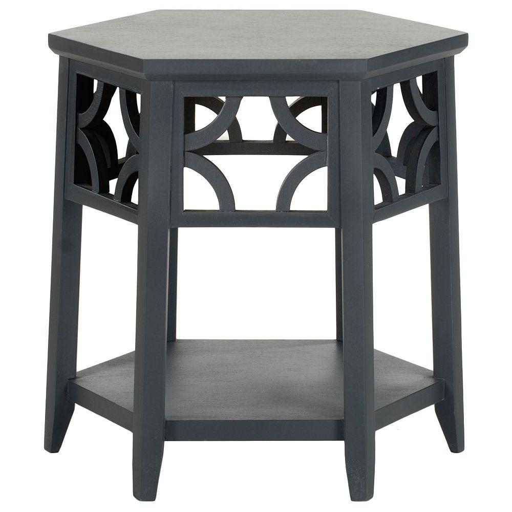 Safavieh Table de Fin Connor en Gris Charbon