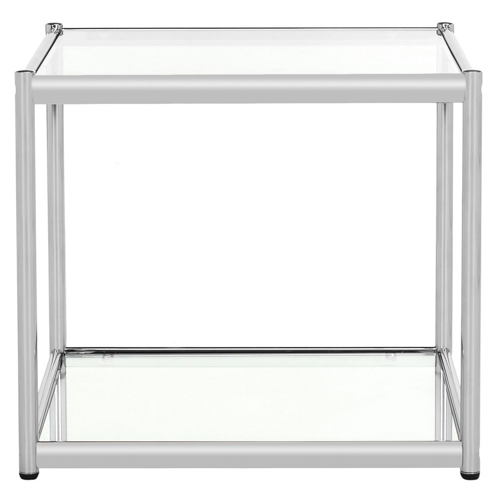 Safavieh Lilias Table In Chrome