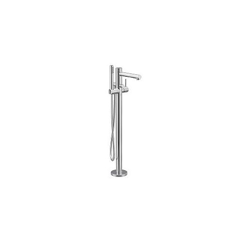 Align 1-Handle Floor-Mount Tub Filler with Hand Shower in Chrome