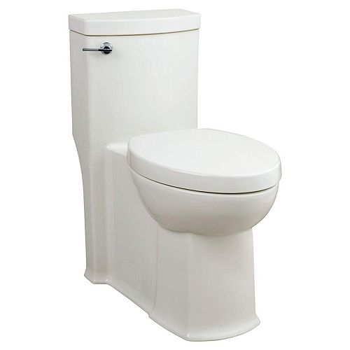 American Standard Boulevard 4.8 L Single Flush Right Height Elongated One Piece Toilet in White