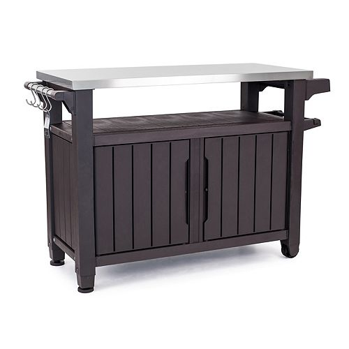 Unity XL BBQ & Storage Table with Stainless Steel Countertop