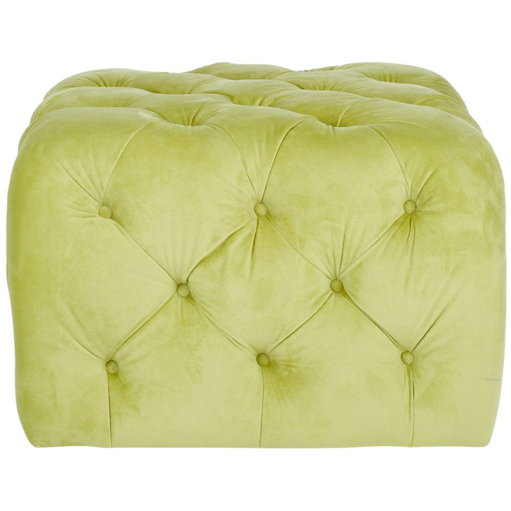 Safavieh Kenan ottoman en vert