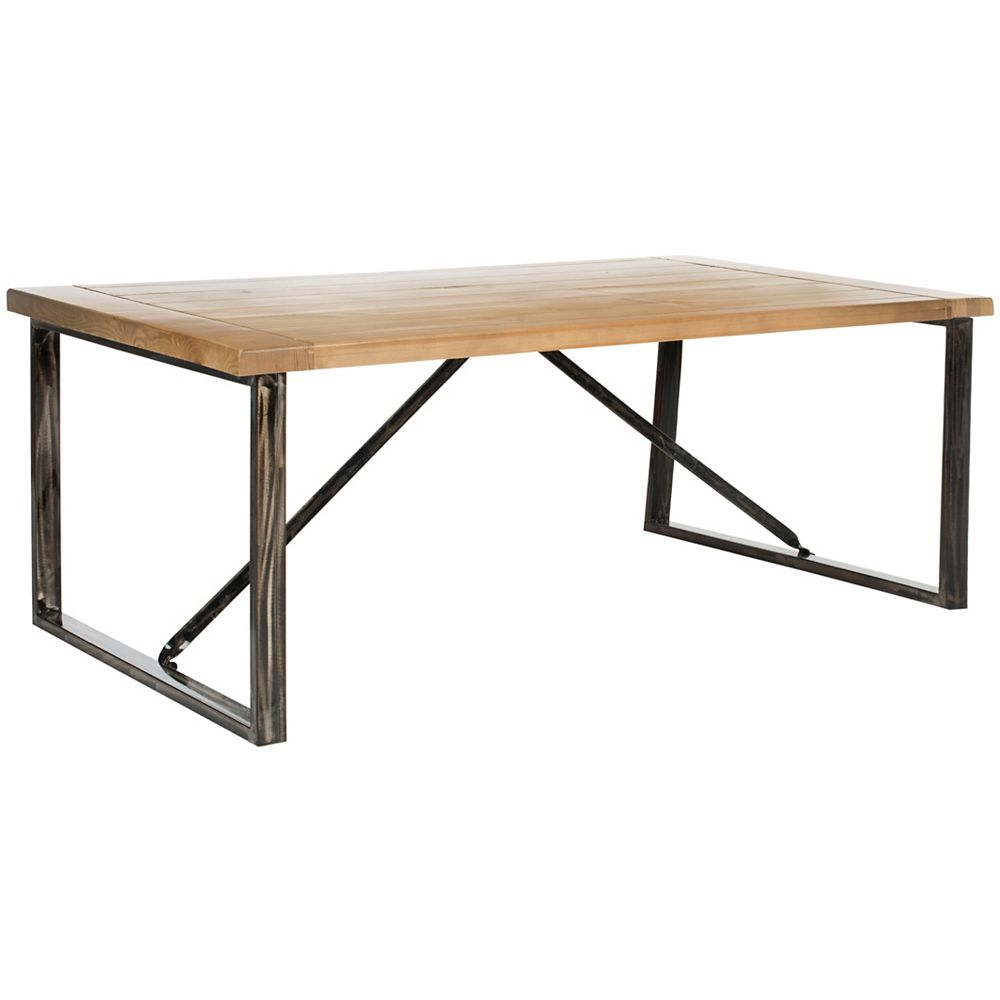 Safavieh Chase Table Basse Tache de Chêne Clair