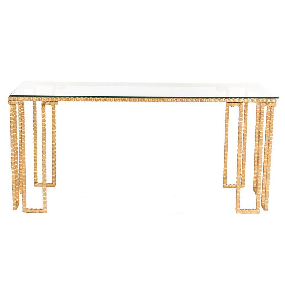 Safavieh Remus Table Basse D'Or