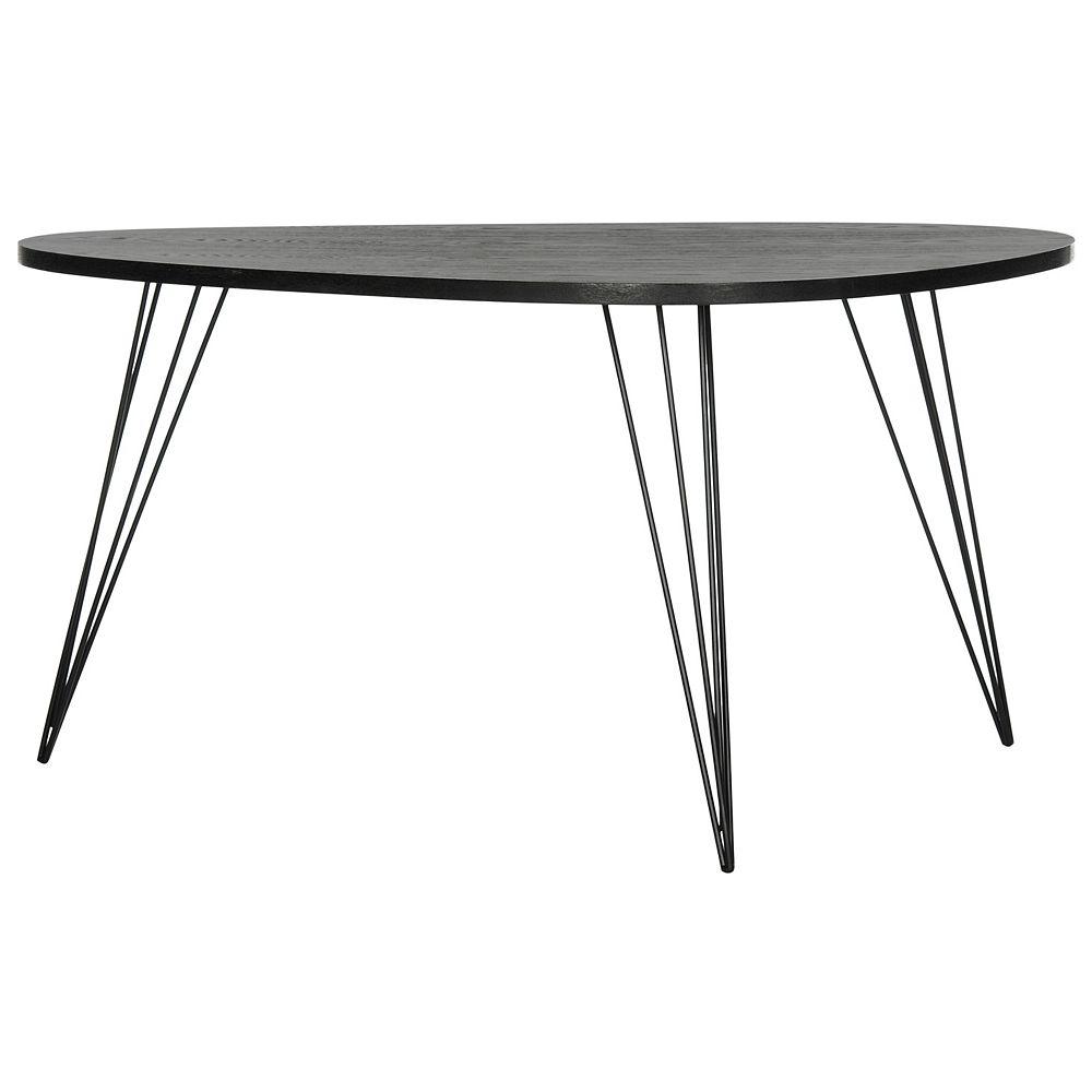 Safavieh Rocco Table Basse en Bois Noir