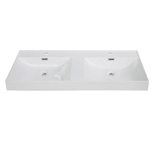 48 inch Solid Surface Resin Streamline K-170-SLSITRC-48 Vanity Top