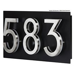 Address Plaque for LED Backlit Numbers - Small
