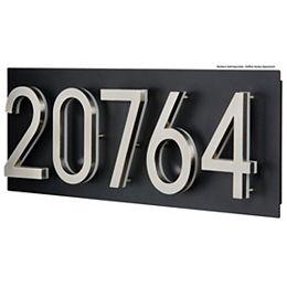 Address Plaque for LED Backlit Numbers - Large