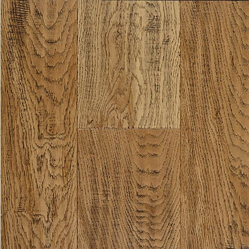 Aged Bourbon 0.31-inch x 7.48-inch x Varying Length Wide Waterproof Hardwood Flooring (17.47 sq. ft. / case)