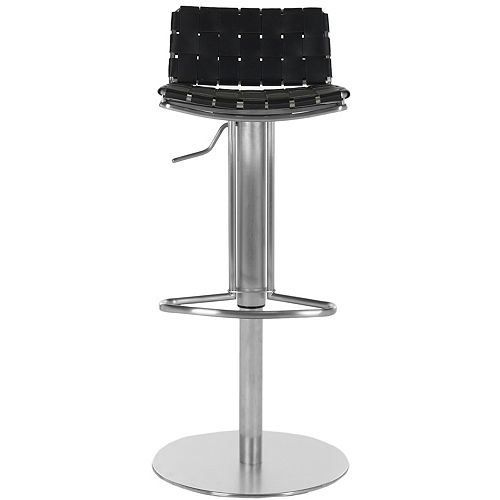 Safavieh Floyd 29 in. Black Bar Stool