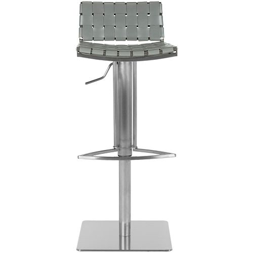 Safavieh Mitchell 29.5 in. Gray Bar Stool