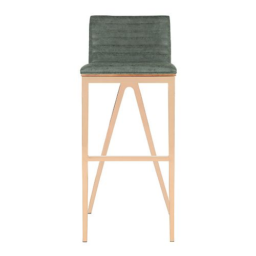 McKay 39 in. Ash Green Bar Stool