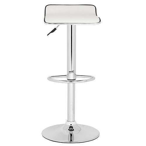 Safavieh Chaunda 25.2 in. White Bar Stool