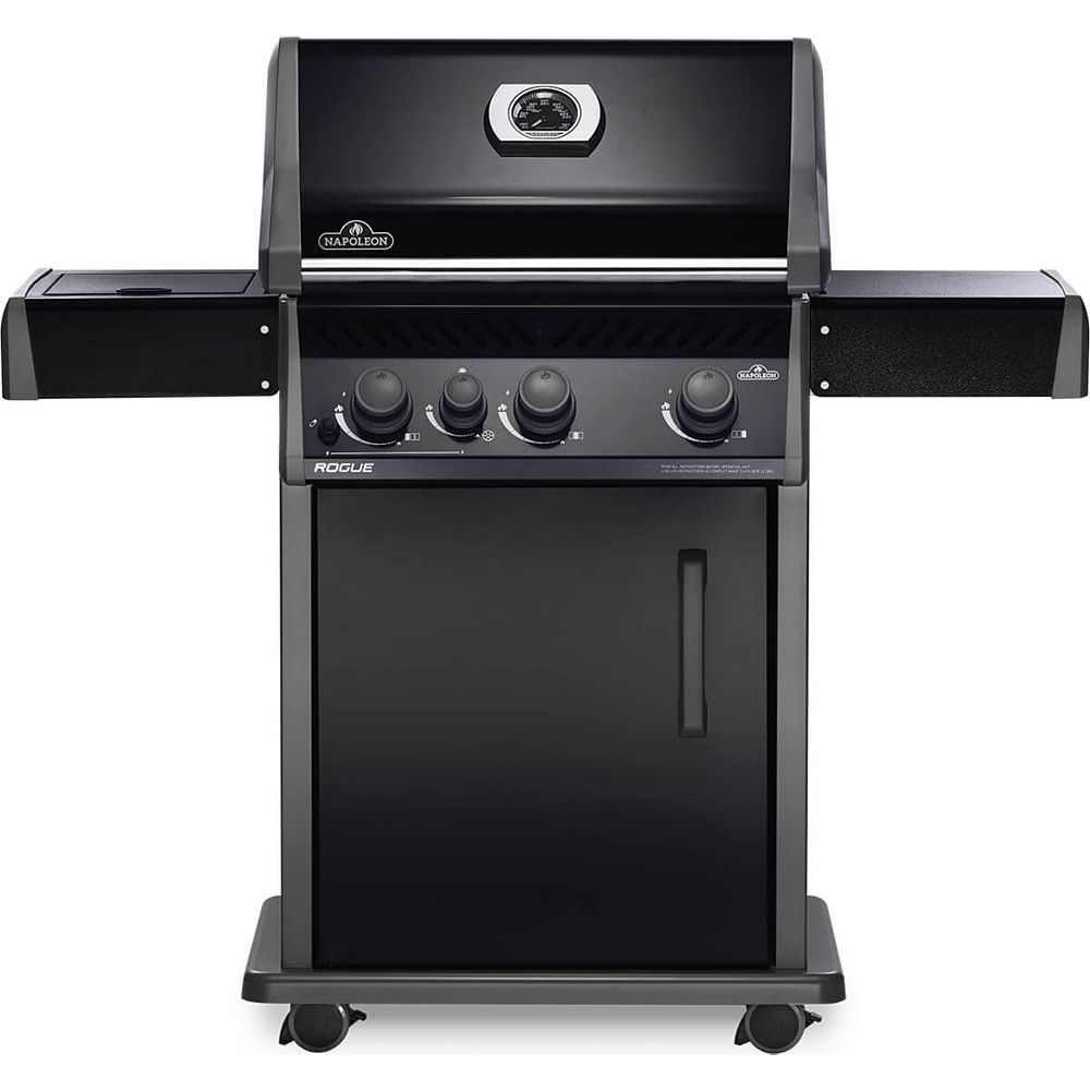 Napoleon Rogue 425 3-Burner Natural Gas BBQ in Black