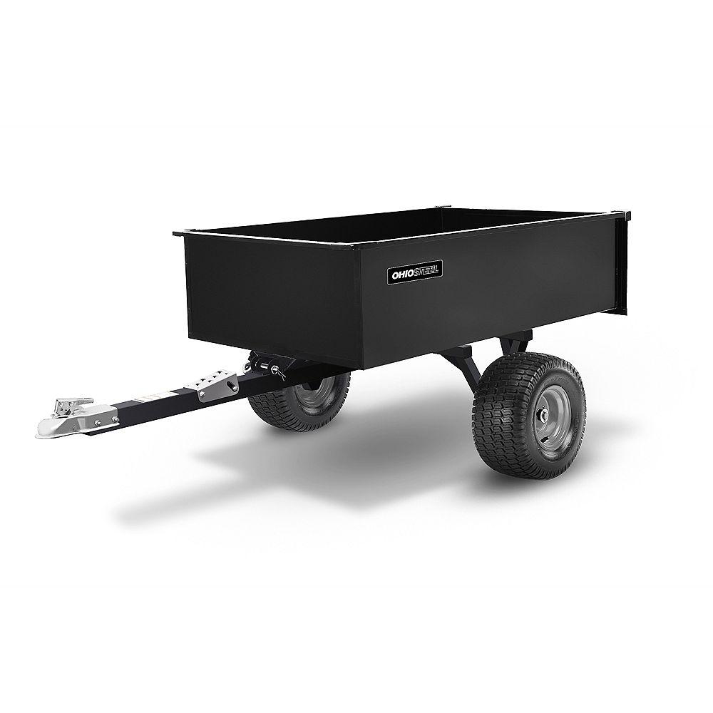 Ohio Steel 20 cu. ft. 1500 lbs. Capacity Swivel ATV Cart