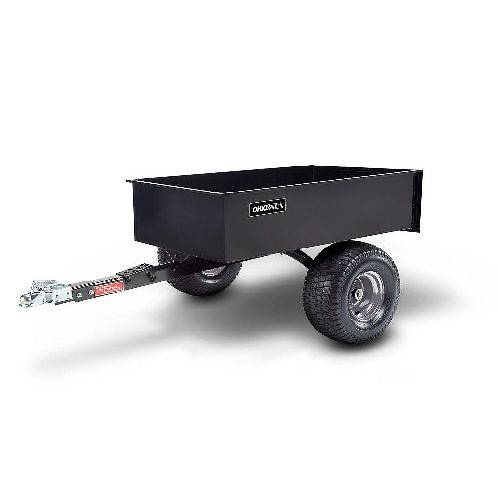 Ohio Steel 12 cu. ft. 1200 lbs. Capacity Steel Swivel ATV Cart