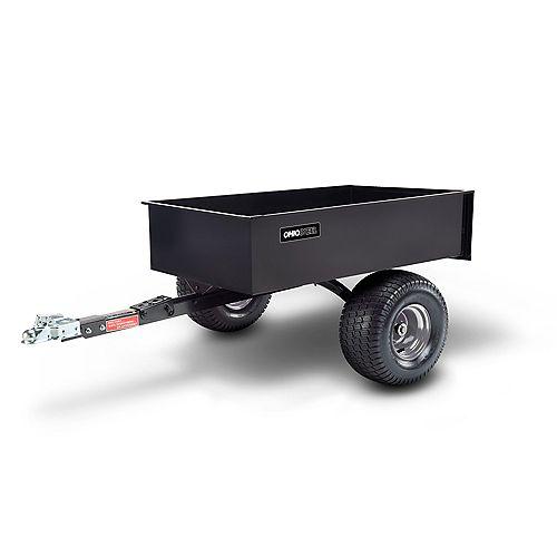 12 cu. ft. 1200 lbs. Capacity Steel Swivel ATV Cart