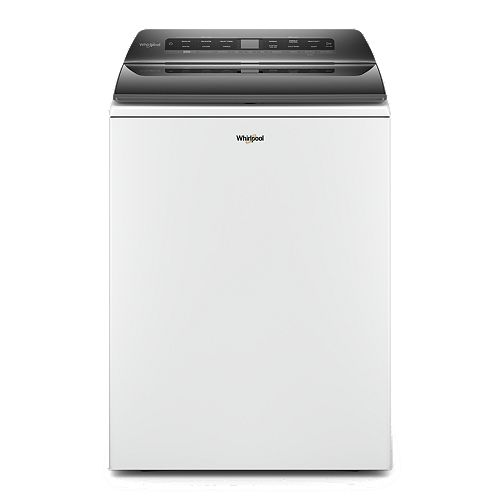 5.5 cu. ft. Smart Top Load Washer with Load and Go in White
