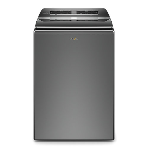 6.1 cu. ft. Smart Top Load Washer with Impeller and Load and Go in Chrome Shadow- ENERGY STAR®