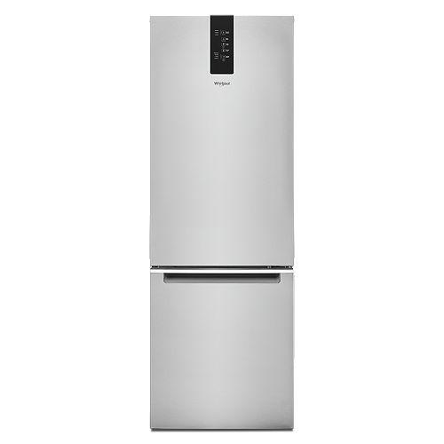 24-inch W 12.7 cu. ft. Bottom Freezer Refrigerator in Fingerprint Resistant Stainless Steel, Counter Depth