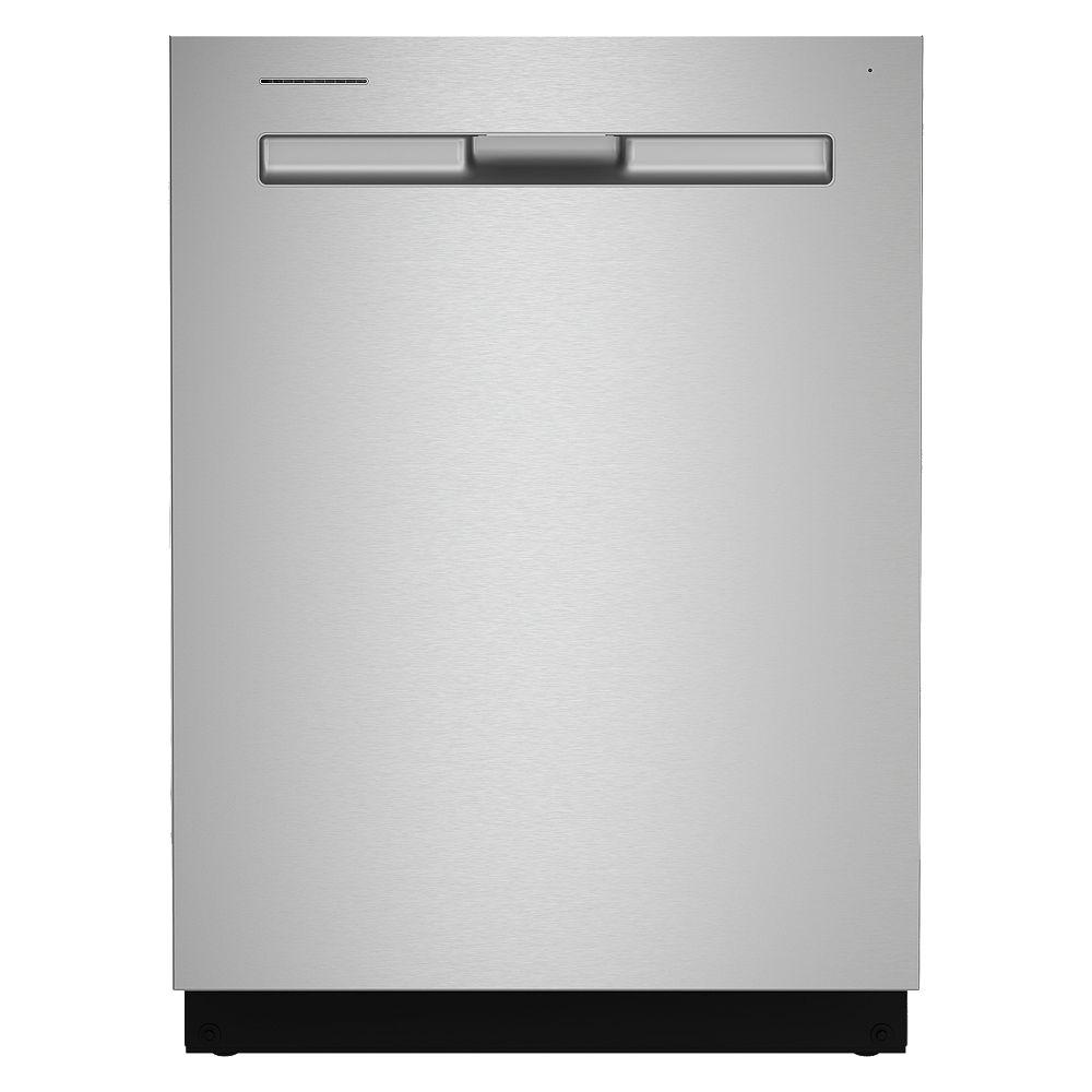 Maytag Lave-vaisselle Top Control en acier inoxydable résistant aux empreintes digitales, 50 dBA - ENERGY STAR