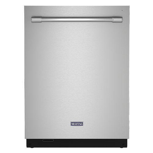 Lave-vaisselle Top Control en acier inoxydable résistant aux empreintes digitales, 44 dBA - ENERGY STAR