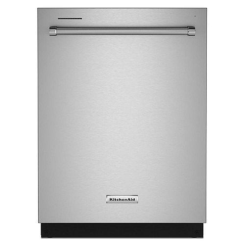 Lave-vaisselle Top Control avec panier de troisième niveau en acier inoxydable PrintShield, 44 dBA - ENERGY STAR