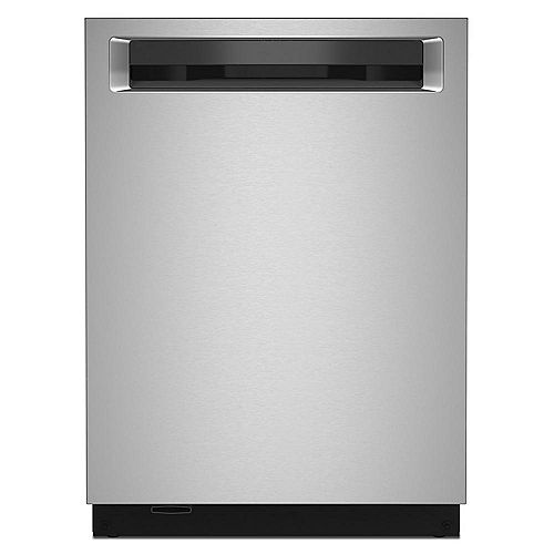 Top Control Dishwasher with Third Level Rack in PrintShield Stainless Steel, 44 dBA - ENERGY STAR®