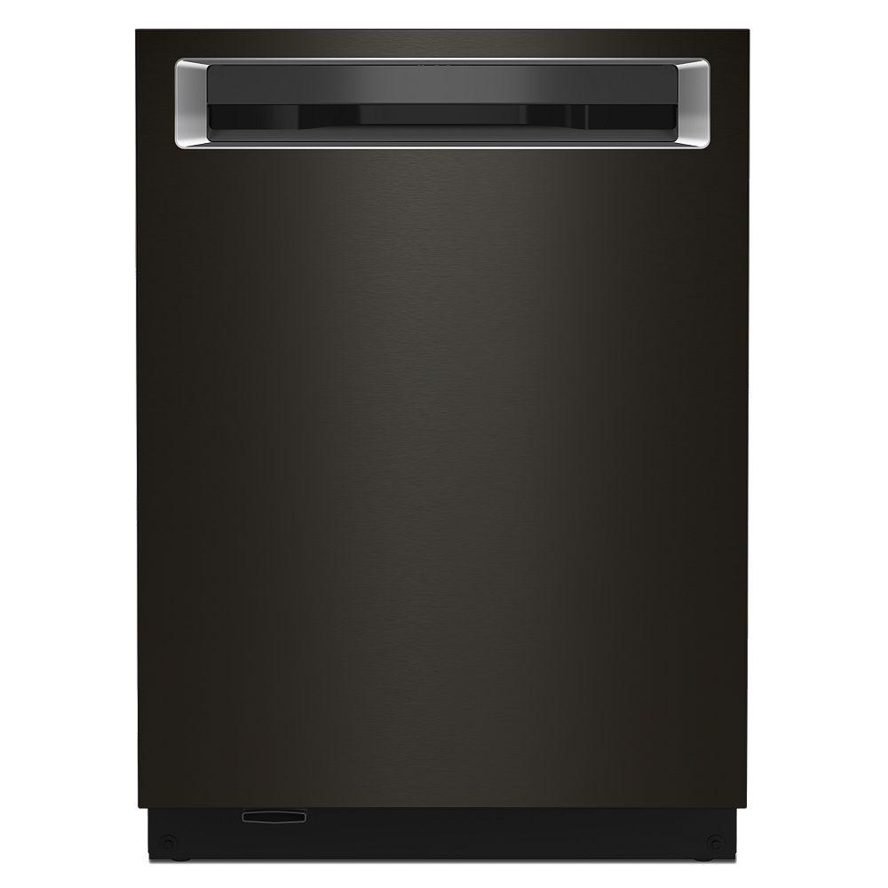 KitchenAid Top Control Dishwasher with Third Level Rack in PrintShield Black Stainless Steel
