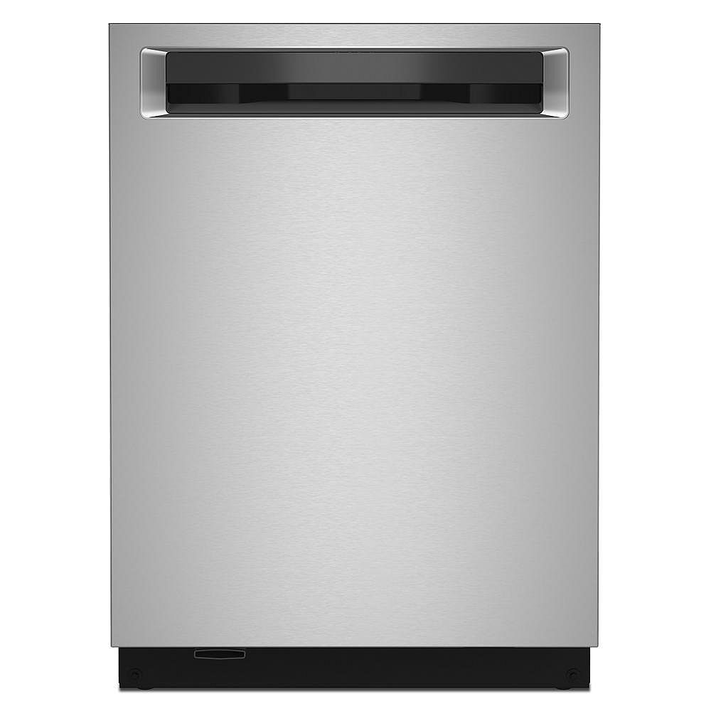 KitchenAid Top Control Dishwasher with Third Level Rack and Interior Light in PrintShield Stainless Steel, 44 dBA
