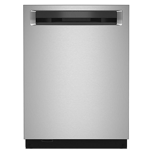 Top Control Dishwasher with Third Level Rack and Interior Light in PrintShield Stainless Steel, 44 dBA - ENERGY STAR®
