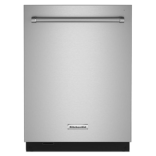 KitchenAid Top Control Dishwasher with Third Level Rack and Interior Lighting in PrintShield Stainless Steel, 44 dBA - ENERGY STAR®