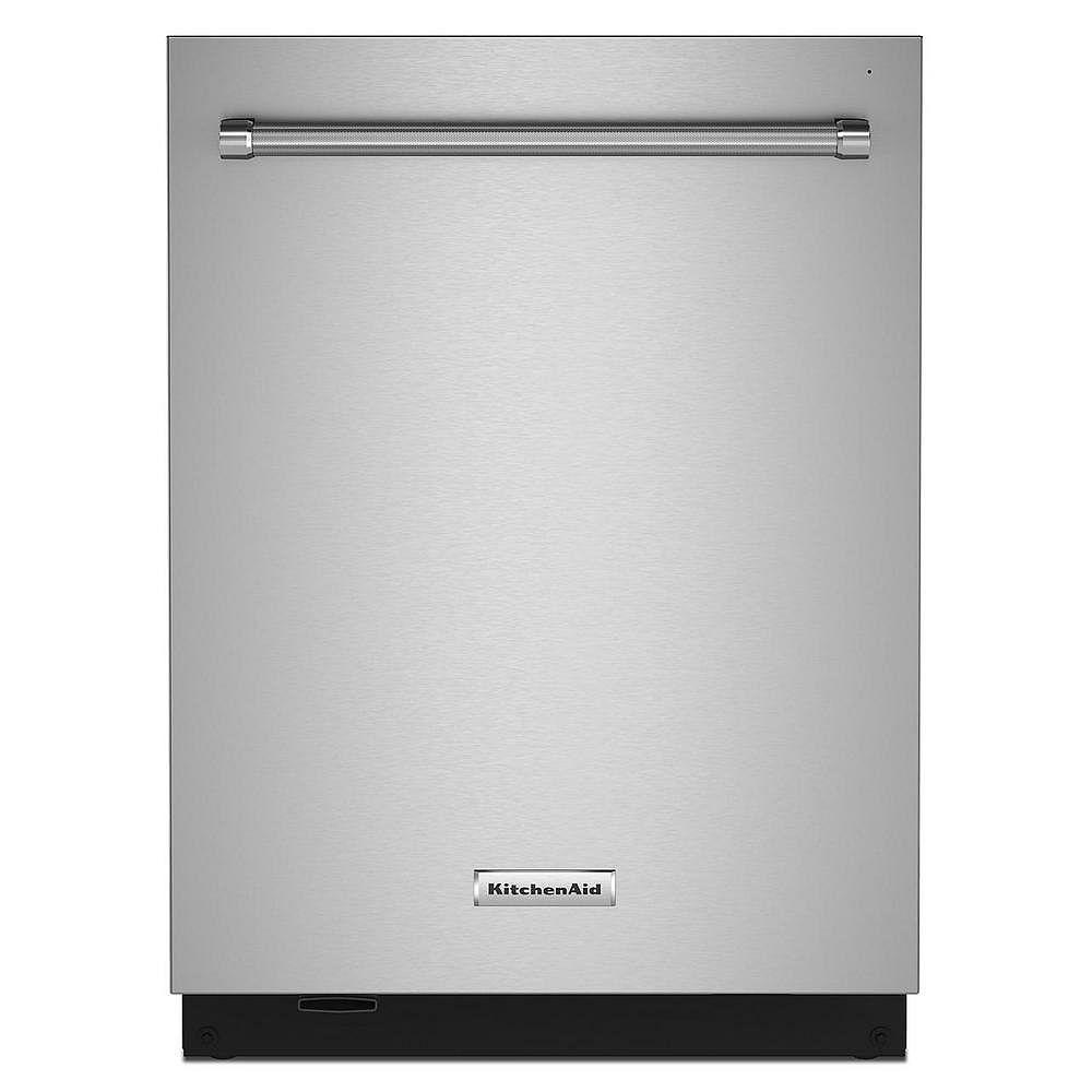KitchenAid Top Control Dishwasher with Third Level Rack in PrintShield Stainless Steel