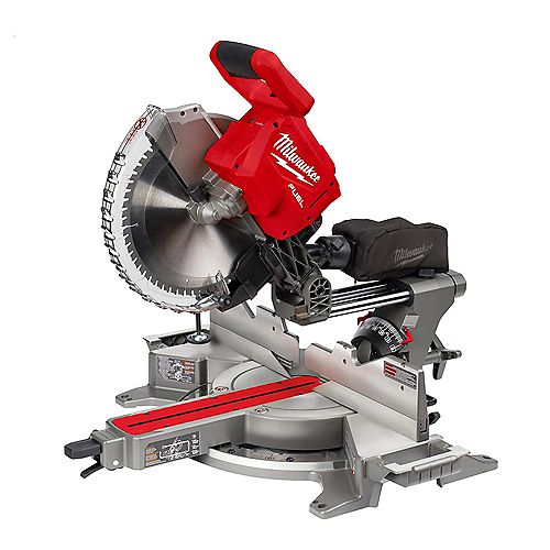 M18 FUEL 18V Li-Ion Brushless Cordless 12-inch Dual Bevel Sliding Compound Miter Saw (Tool Only)